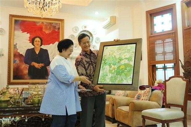 越南与印尼同意在2019-2023年行动计划中保持协调联动 hinh anh 1