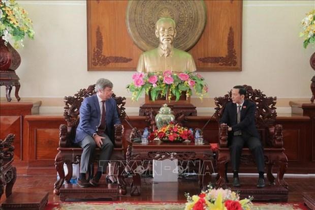 越南芹苴市与阿根廷农业领域合作前景明朗 hinh anh 1