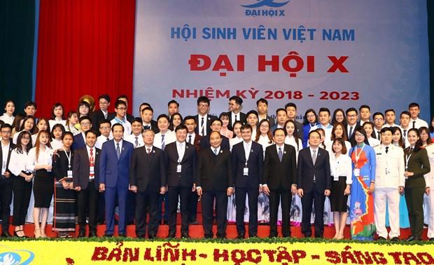 阮春福总理:打造一支有气质、坚定信心、积极行动的新代学生 hinh anh 2