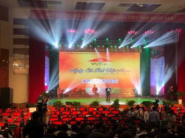 越南举行第2届咖啡日 hinh anh 1