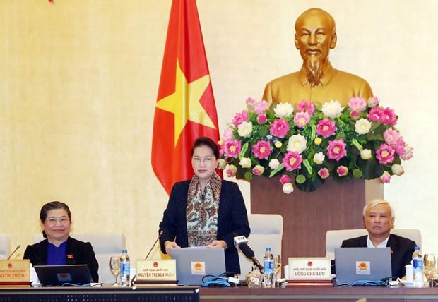 越南第十四届国会常委会第29次会议闭幕 hinh anh 1