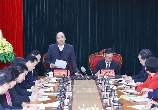 阮春福总理:和平省应利用特别优势 服务于发展事业 hinh anh 2
