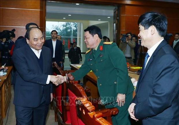 阮春福总理:和平省应利用特别优势 服务于发展事业 hinh anh 1