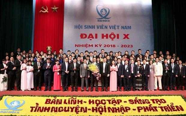 越南大学生协会第十次全国代表大会圆满落幕 hinh anh 2