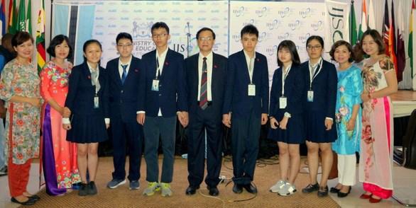 越南学生代表团在2018年IJSO竞赛中获得4枚金牌 hinh anh 1
