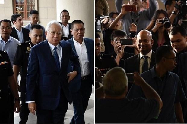 马来西亚前总理纳吉布被指控与1MDB遭删改案有关 hinh anh 1