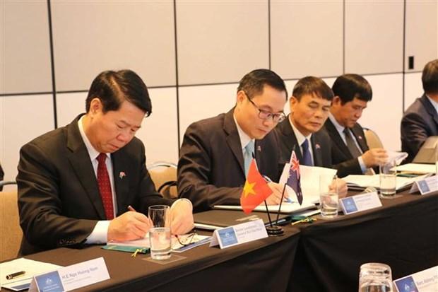 越南与澳大利亚首次副部长级安全对话在澳大利亚举行 hinh anh 1