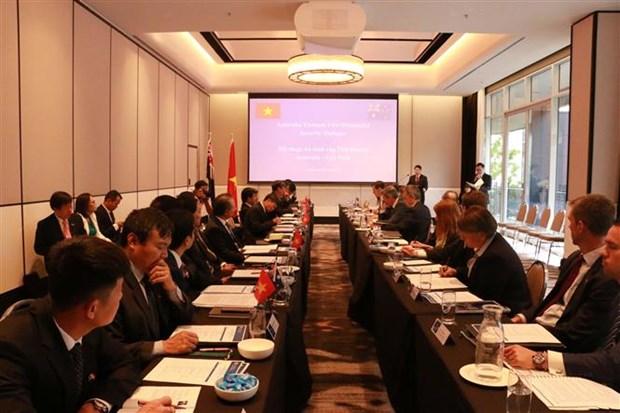 越南与澳大利亚首次副部长级安全对话在澳大利亚举行 hinh anh 2