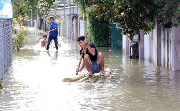 越南多地遭受暴雨袭击 政府调动各方面资源开展灾后重建工作 hinh anh 1
