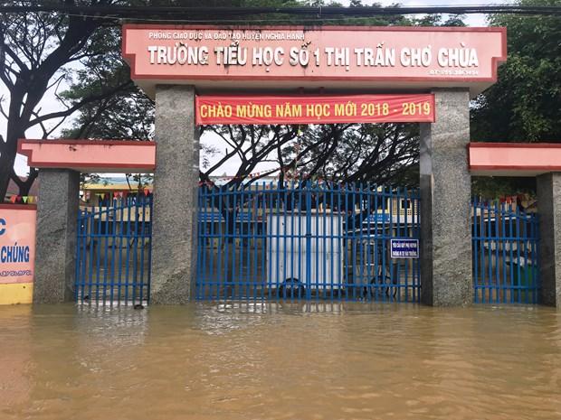 越南多地遭受暴雨袭击 政府调动各方面资源开展灾后重建工作 hinh anh 2
