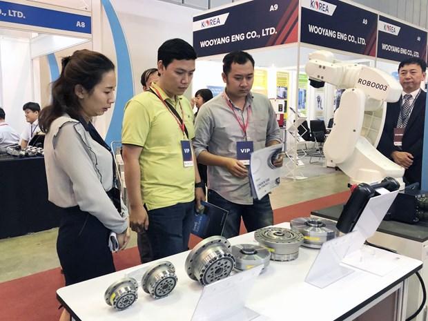 2018年越南胡志明市国际机械展正式开展 hinh anh 1