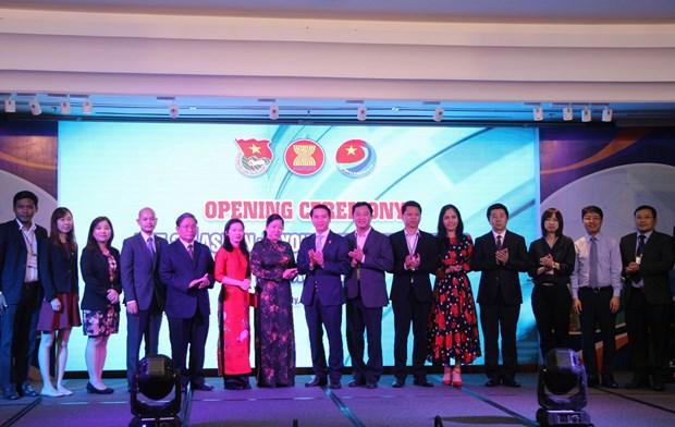 2018年东盟与中日韩青年企业家论坛在胡志明市开幕 hinh anh 1