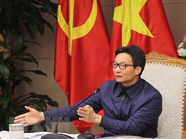 政府副总理武德儋指导政府关于社会政策决议落实工作 hinh anh 1