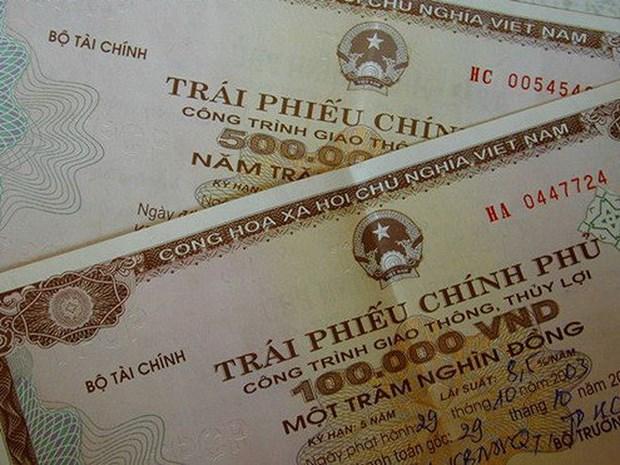 越南成功发行7.32万亿越盾政府债券 hinh anh 1