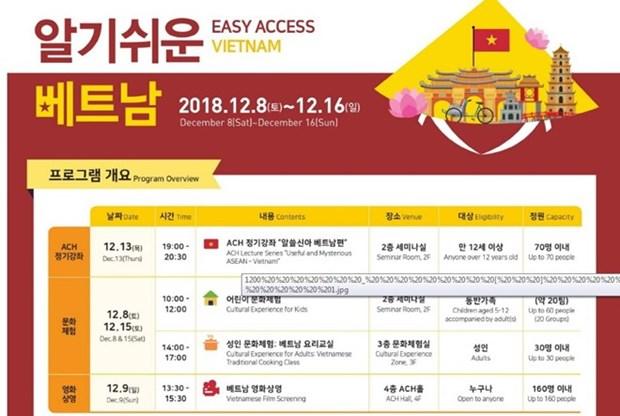 """""""亲善越南""""活动在韩国举行 hinh anh 1"""