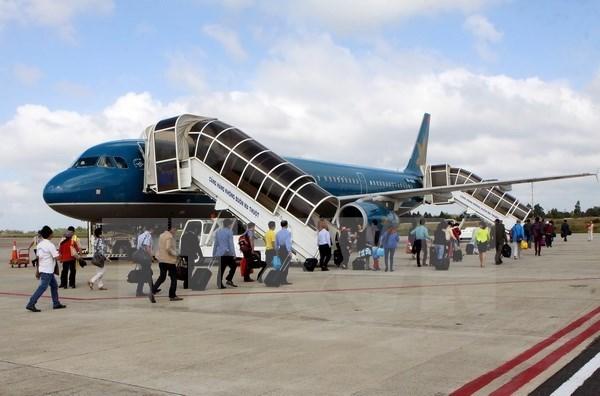 2018年越南全国航空客运量突破1亿人次 hinh anh 1