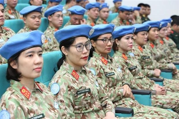 越南二号二级野战医院医疗队成立仪式在河内举行 hinh anh 2