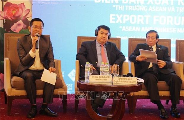 越南企业应加大对东盟与中国市场的出口力度 hinh anh 1