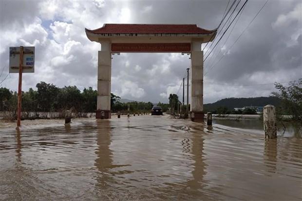平定省洪涝灾害致6人死亡 数万间房屋被淹 hinh anh 1