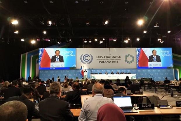COP24:越南呼吁各国加快贯彻落实《巴黎气候变化协定》 hinh anh 2