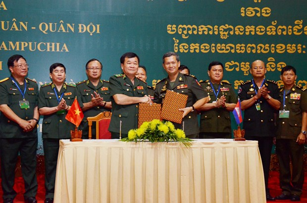 越柬加强合作维护边境稳定 hinh anh 2