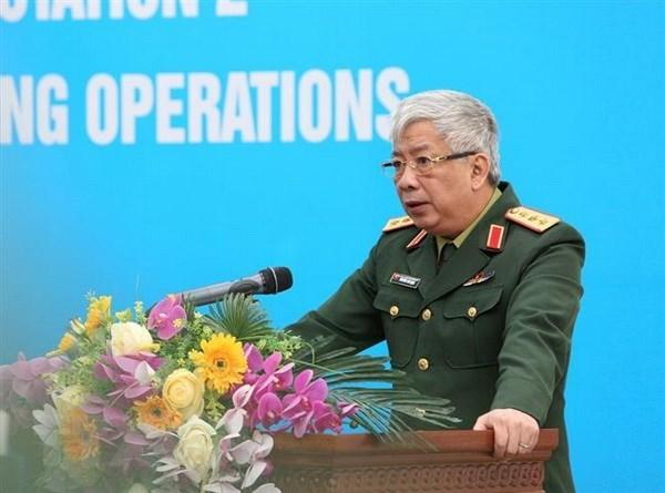 越南军官全力以赴完成联合国维和使命 hinh anh 1
