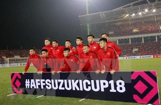 2018年铃木杯东南亚足球锦标赛决赛第二回合: 越南队以3比2总比分完胜 夺得冠军 hinh anh 3