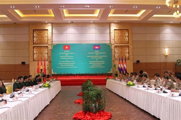 越南与柬埔寨加强边境管理合作 保持边境地区安全稳定 hinh anh 1