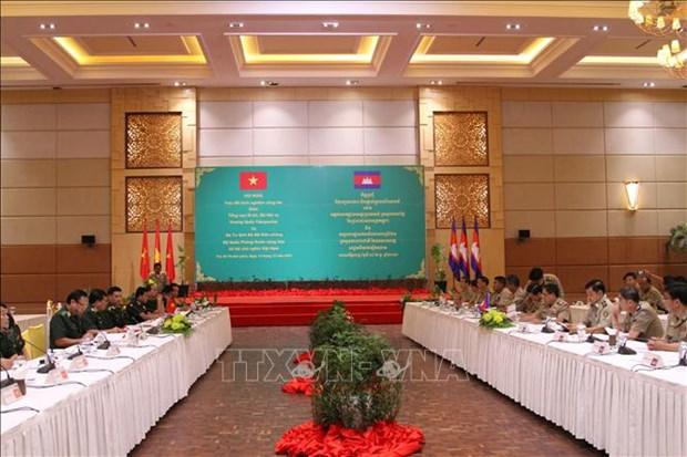 越老柬三国最高人民法院加强合作 hinh anh 1