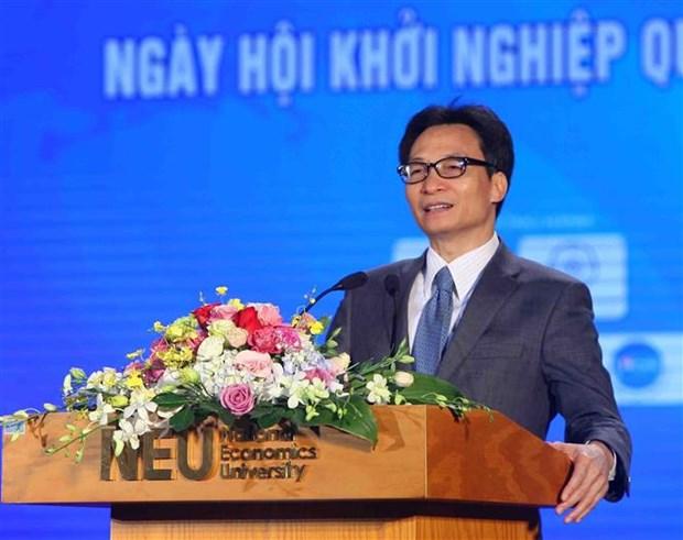 武德儋:激发学生创业渴望 致力于国家发展事业 hinh anh 1