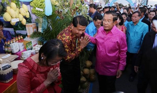 柬埔寨第七届海洋节正式开幕 hinh anh 1