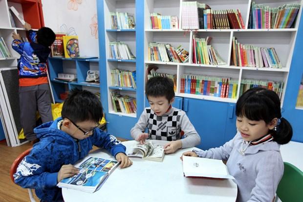 """""""亲民""""型图书馆为孩子培养阅读文化 hinh anh 1"""