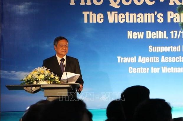 坚江省代表团赴印度开展旅游促进活动 hinh anh 1