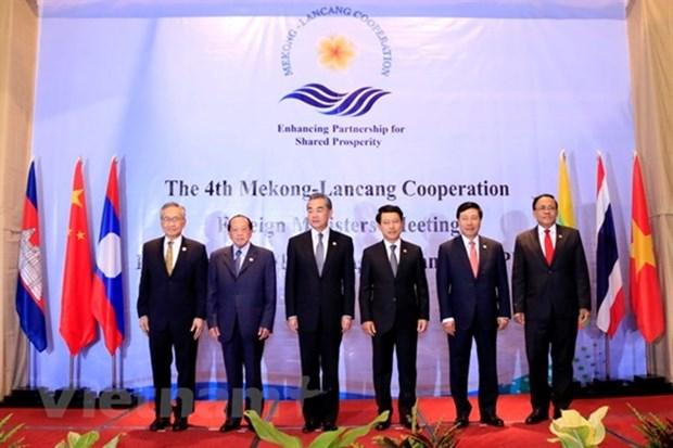 湄澜合作:支持开放型世界经济和多边贸易体系 hinh anh 1
