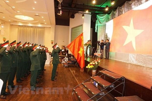 旅捷越南老战士协会举行见面会庆祝越南人民军建军74周年 hinh anh 1