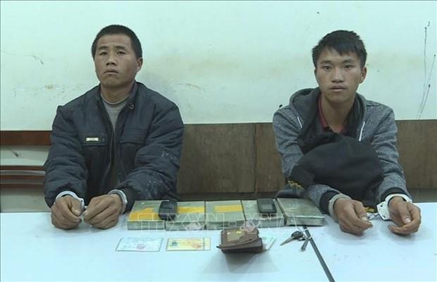 越南山萝省连续破获两起非法贩运毒品案 hinh anh 2