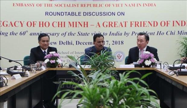 胡志明主席访问印度60周年研讨会在印度举行 hinh anh 1