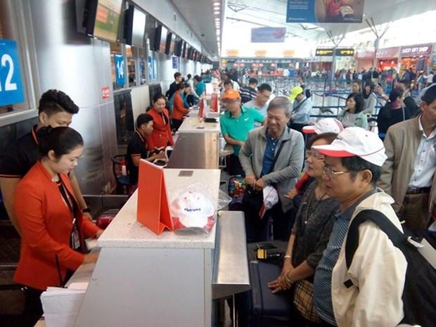 越航和捷星增加航班班次满足乘客春节期间出行需求 hinh anh 1
