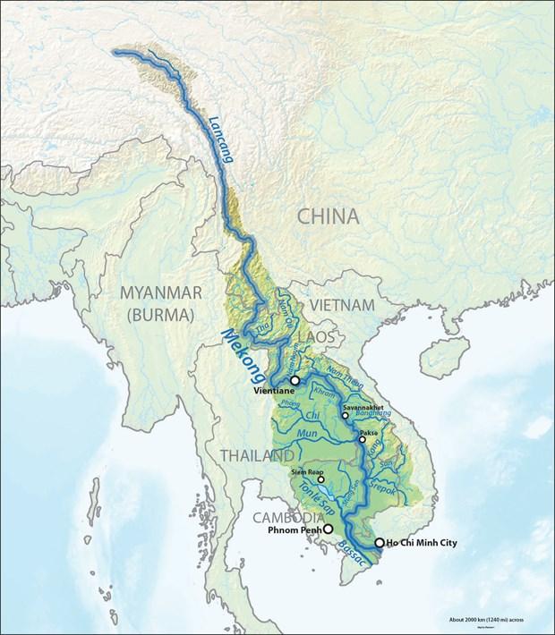 中老缅泰四国举行第77次湄公河联合巡逻执法行动 hinh anh 1
