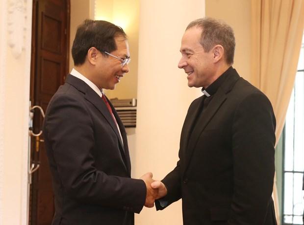 越南与梵蒂冈在河内召开第七轮混合工作组会议 hinh anh 2