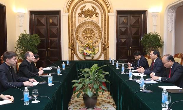越南与梵蒂冈在河内召开第七轮混合工作组会议 hinh anh 1