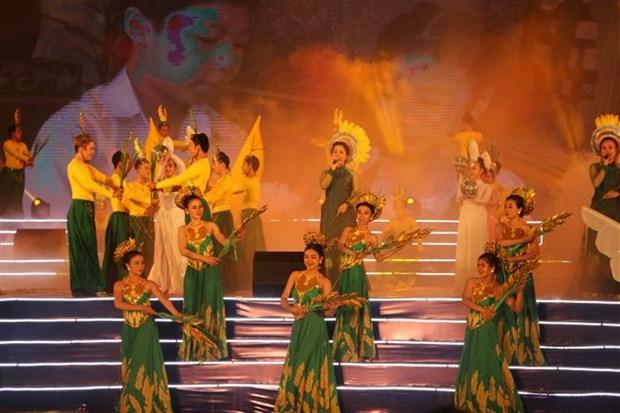 第三届越南大米节在隆安省拉开帷幕 hinh anh 1