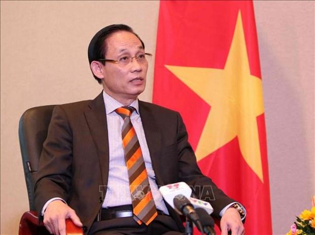 越南外交部副部长:越南为促进国际贸易法逐步协调和统一做出贡献 hinh anh 1