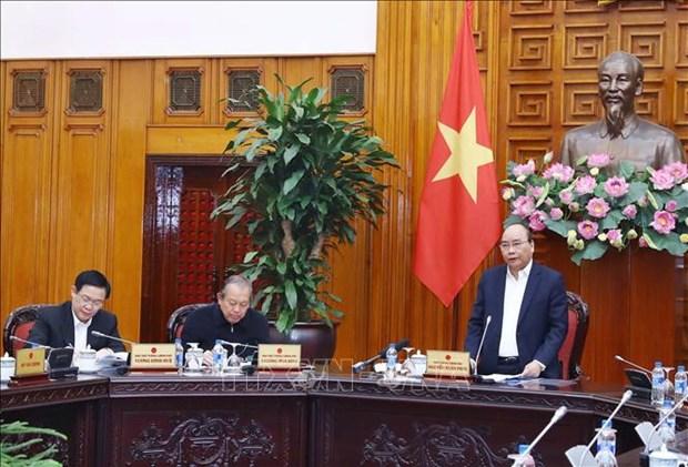 越南政府总理阮春福: 确保越南经济的自主性和韧性 hinh anh 1