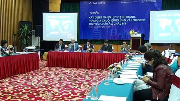 越南举办研讨会共商提高越南物流竞争力的措施 hinh anh 1