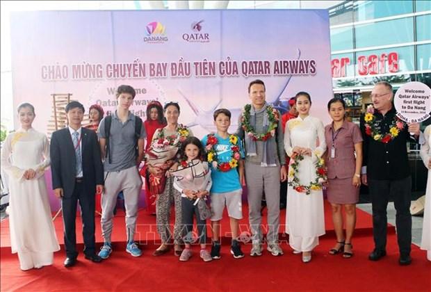 越南岘港市与卡塔尔航空合作促进旅游发展 hinh anh 1