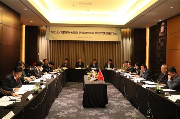 韩国愿协助越南增强环境保护和资源管理能力 hinh anh 1