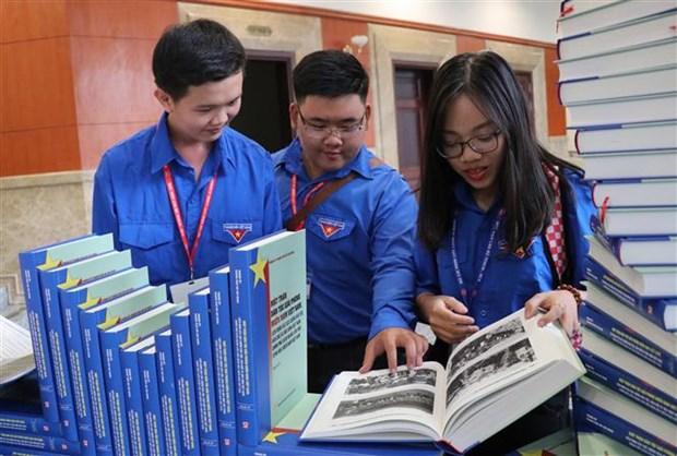《越南阵线、联盟和临时革命政府》新书发布会在胡志明市举行 hinh anh 3