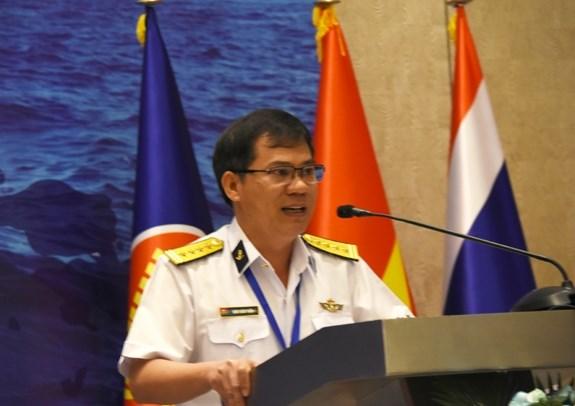 为第二届东盟海军多边演习建立初步计划 hinh anh 1