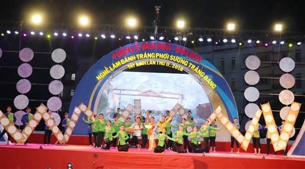 西宁省展旁米皮制作业旅游文化周正式开幕 hinh anh 1